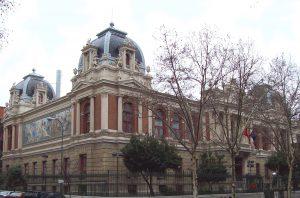 Fachada Escuela Técnica Superior de Ingenieros de Minas y Energía